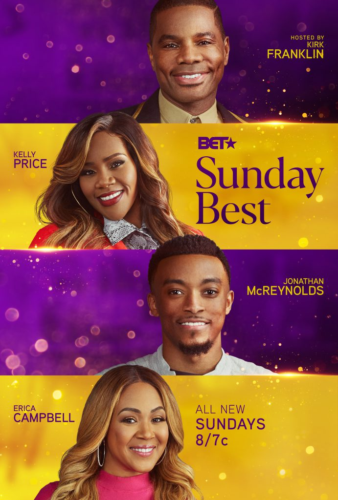 gospel competition on bet